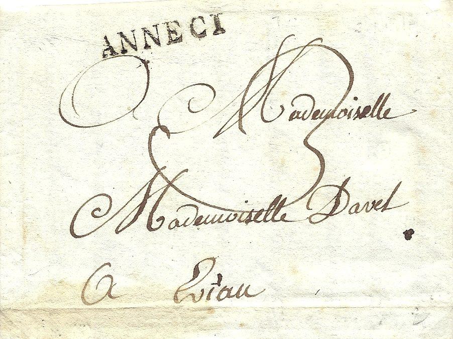 1818: Les timbres à date linéaires
