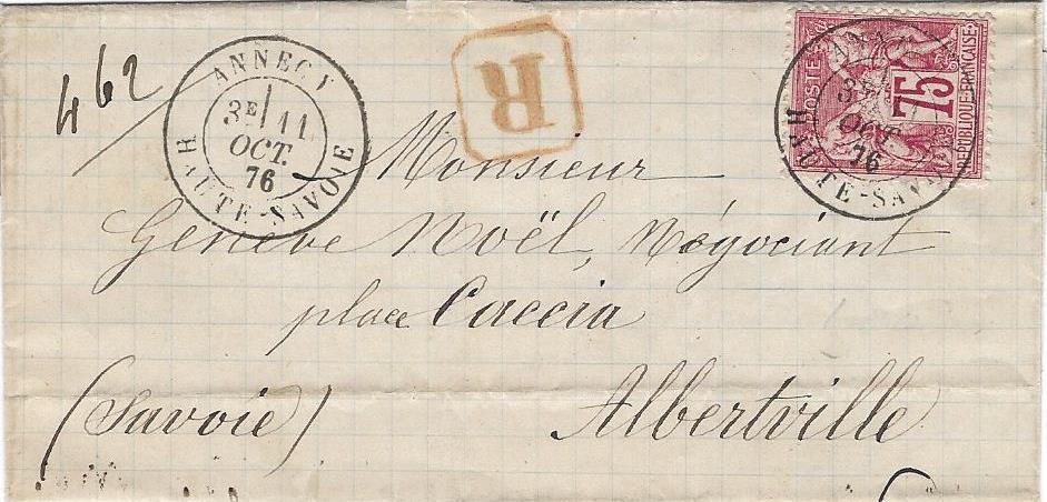 Il y a 140 ans: Le T17bis d'Annecy sur le type Sage