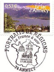 2005_Portrait de Région-Lac d'ANNECY
