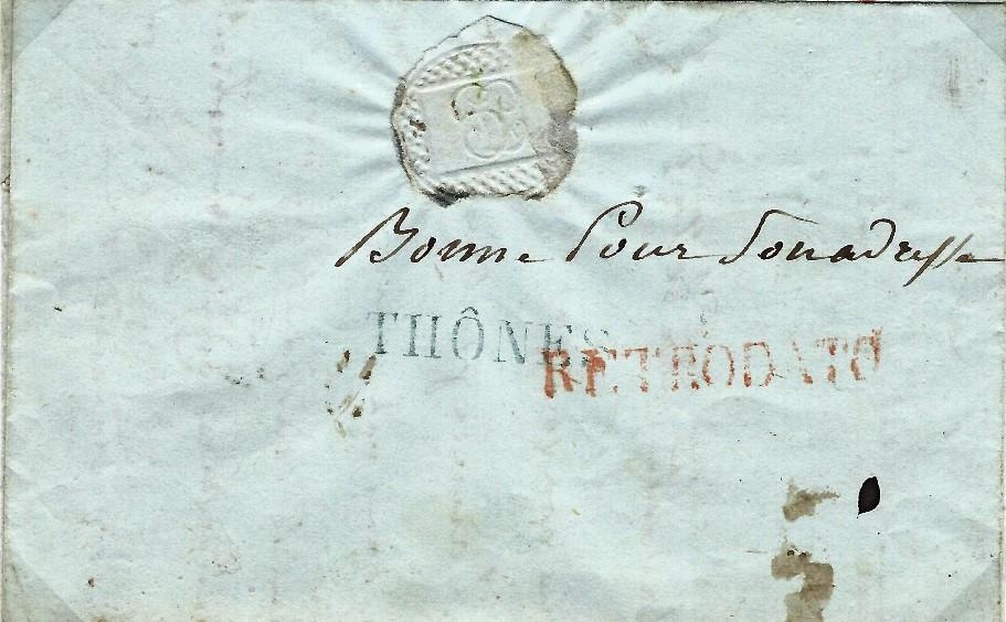 1824 : Les timbres « RETRODATO »