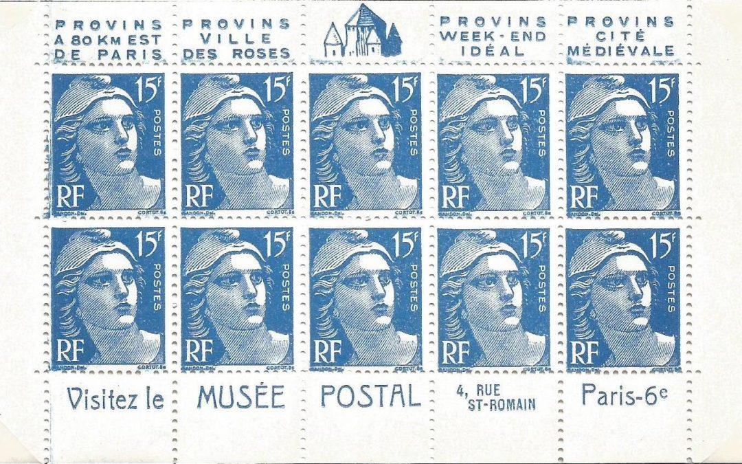 Les Types de 15 Francs Marianne de Gandon Rouge et Bleu