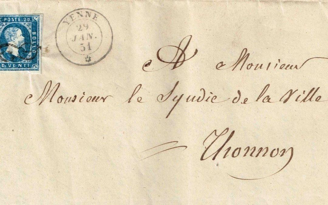 Un Nœud d'Amour ou la passion pour une lettre