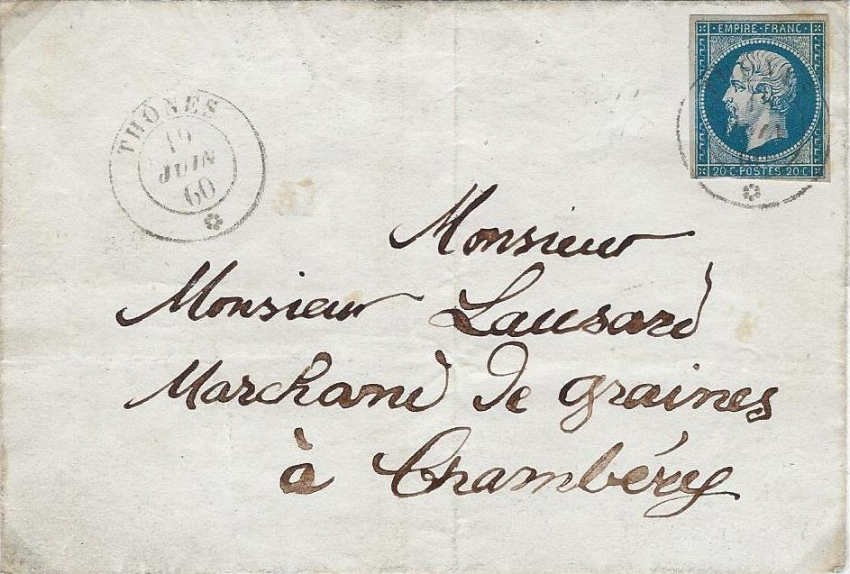les marques postales et timbres  u00e0 date de th u00f4nes et ses