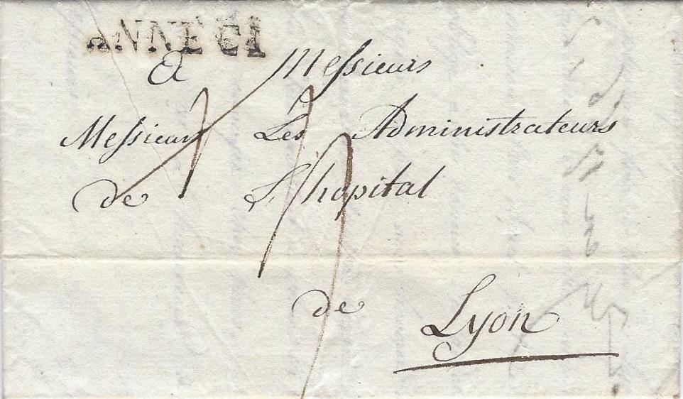 1816 – 1818 : Le rétablissement de la Poste Sarde en Savoie