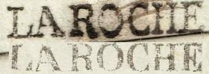 1823: Les ports dûs sardes de La Roche