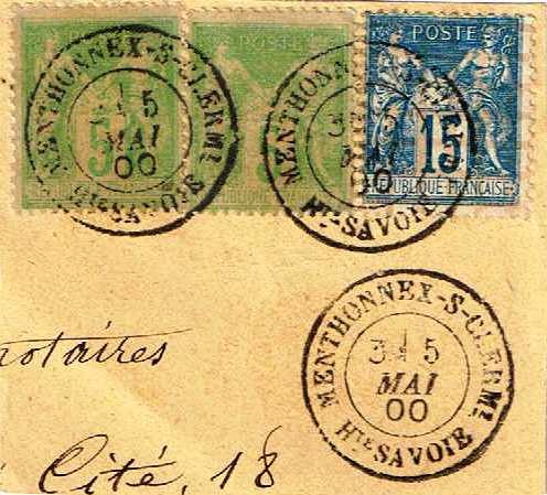 1878: Création du Bureau de Menthonnex-sous-Clermont