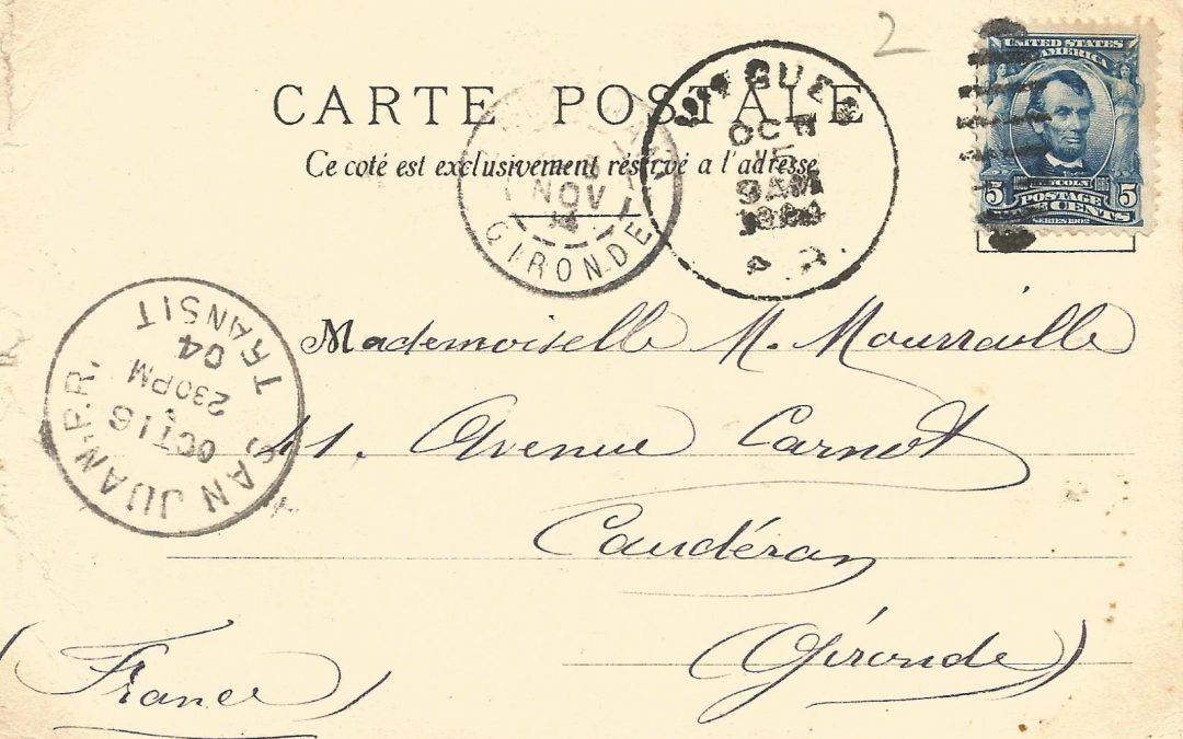 1904 : Croisière aux Antilles