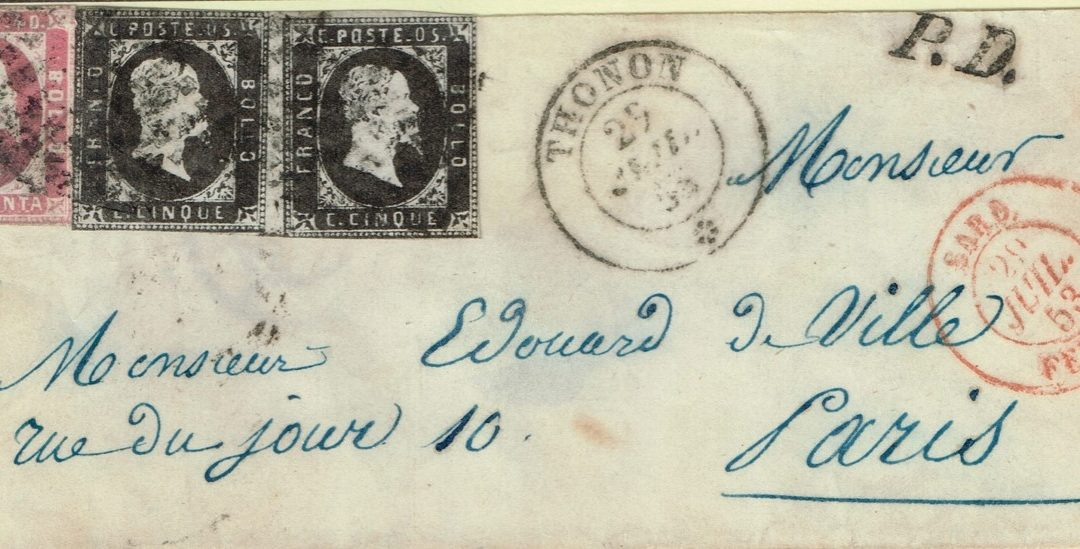 Les Quatre Emissions de Sardaigne 1851-1861