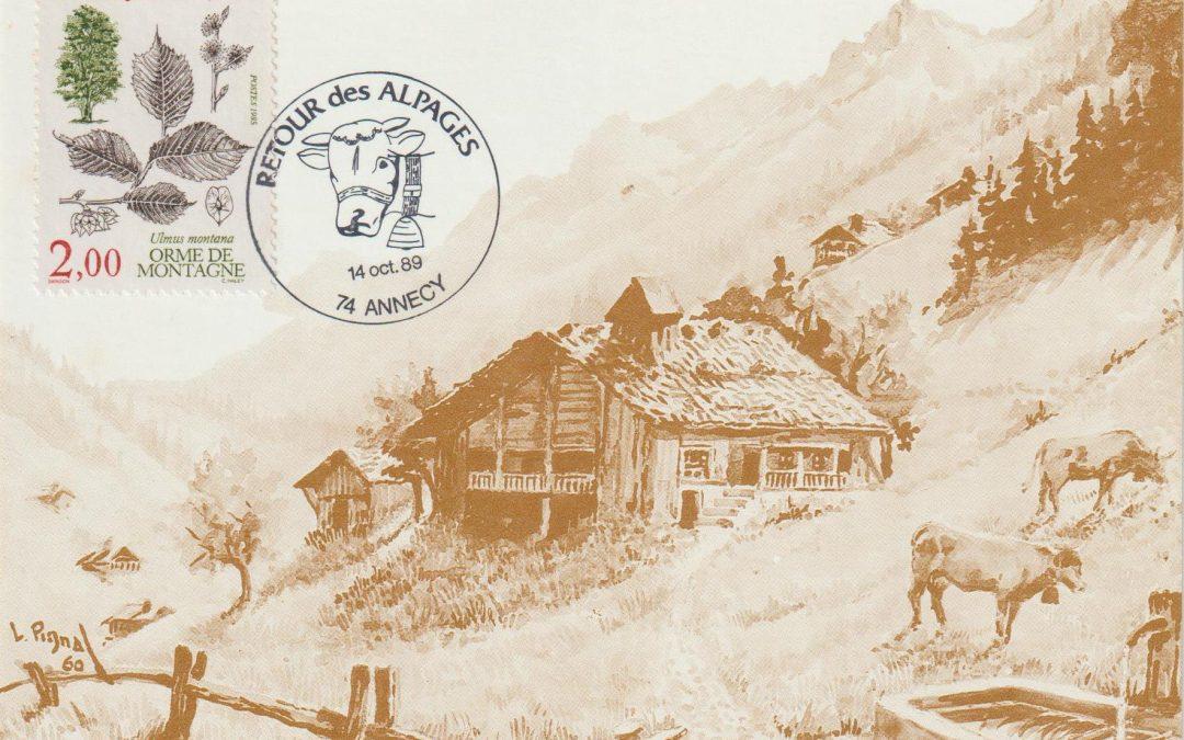 Les Timbres à Date Manuels Spéciaux d'Annecy – de 1942 à nos jours
