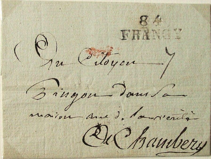 Marques départementales en Savoie: Le cas particulier de FRANGY