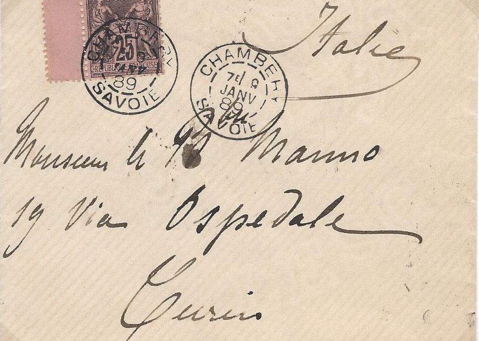 La machine Daguin avec deux timbres à date différents