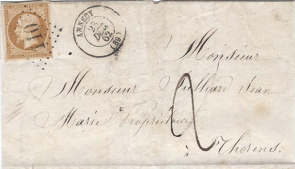 Décembre 1862 – les GC 110 d'Annecy arrivent