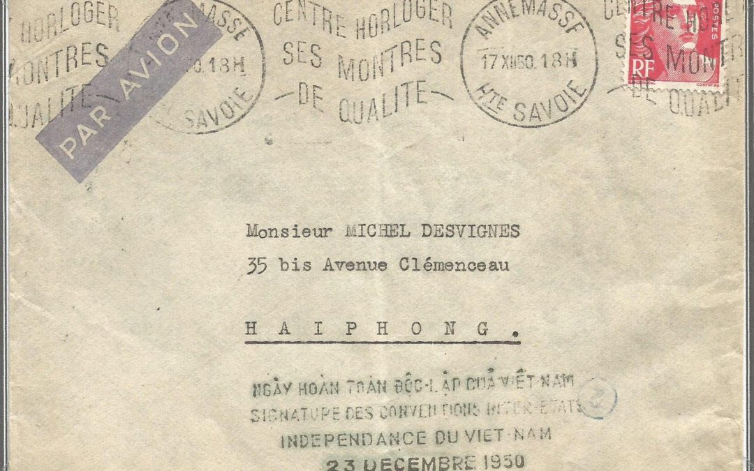1950 – Signature à Saigon de l'Accord Franco Americano Indochinois