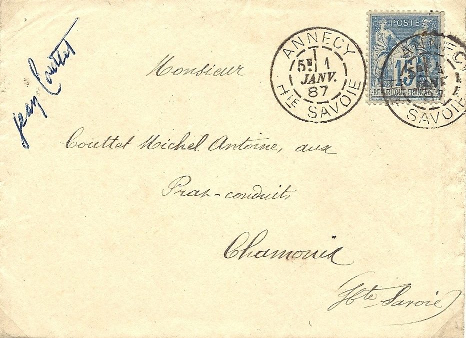 1886 : La première machine Daguin à Annecy