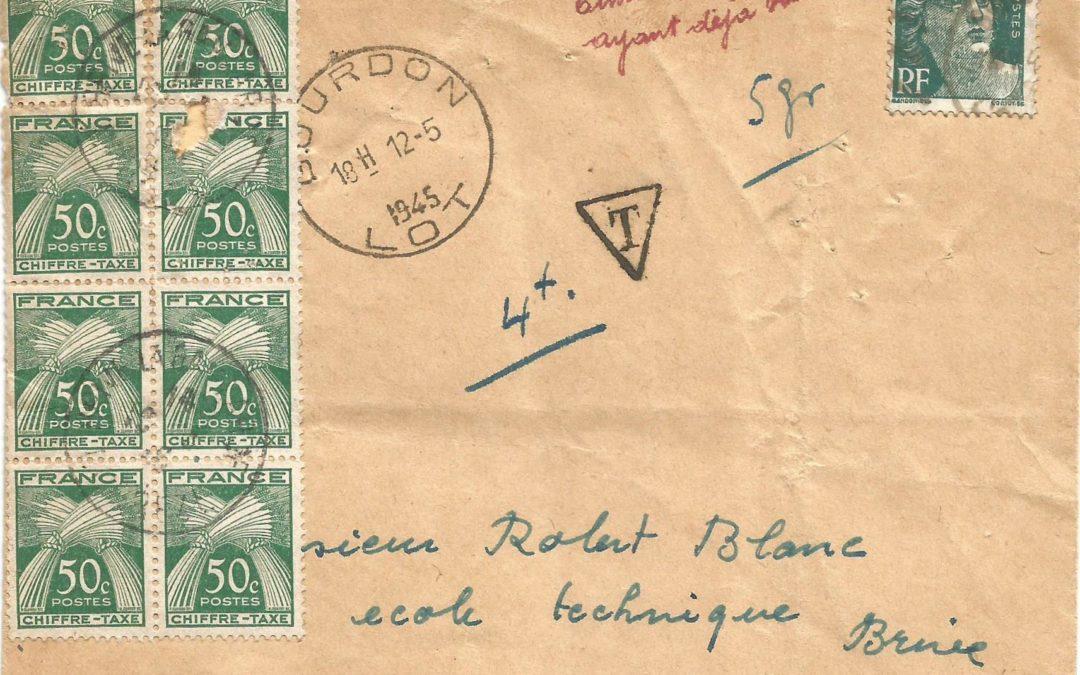 1945 – Tentative de Fraude (III)