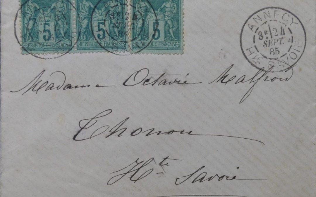 Découverte d'un Daguin d'Annecy du 24 septembre 1885