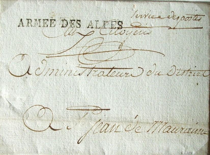 Quelques Témoignages de la Présence Militaire en Savoie de 1792 à 1860