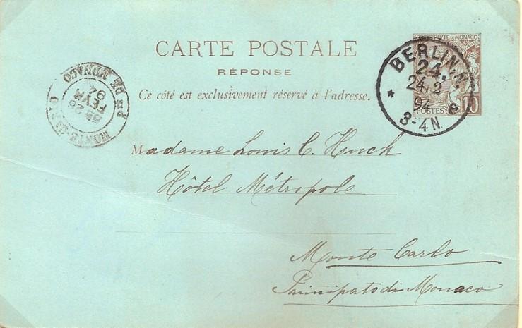 1894 : Monte Carlo – Berlin, un Aller-Retour