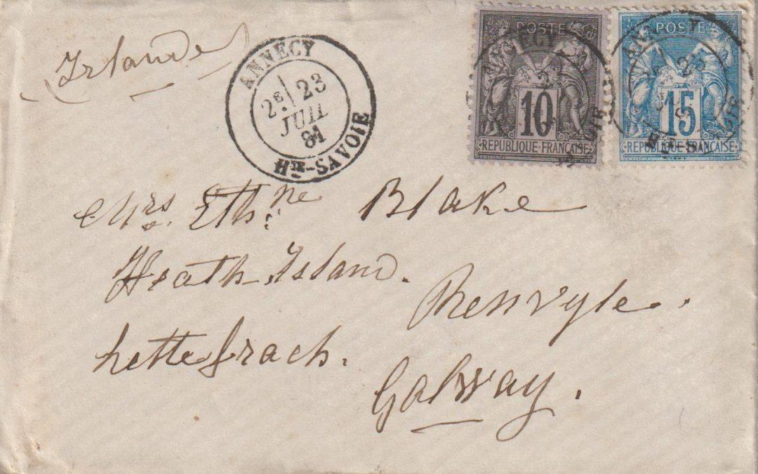 Les timbres à date T18 d'Annecy