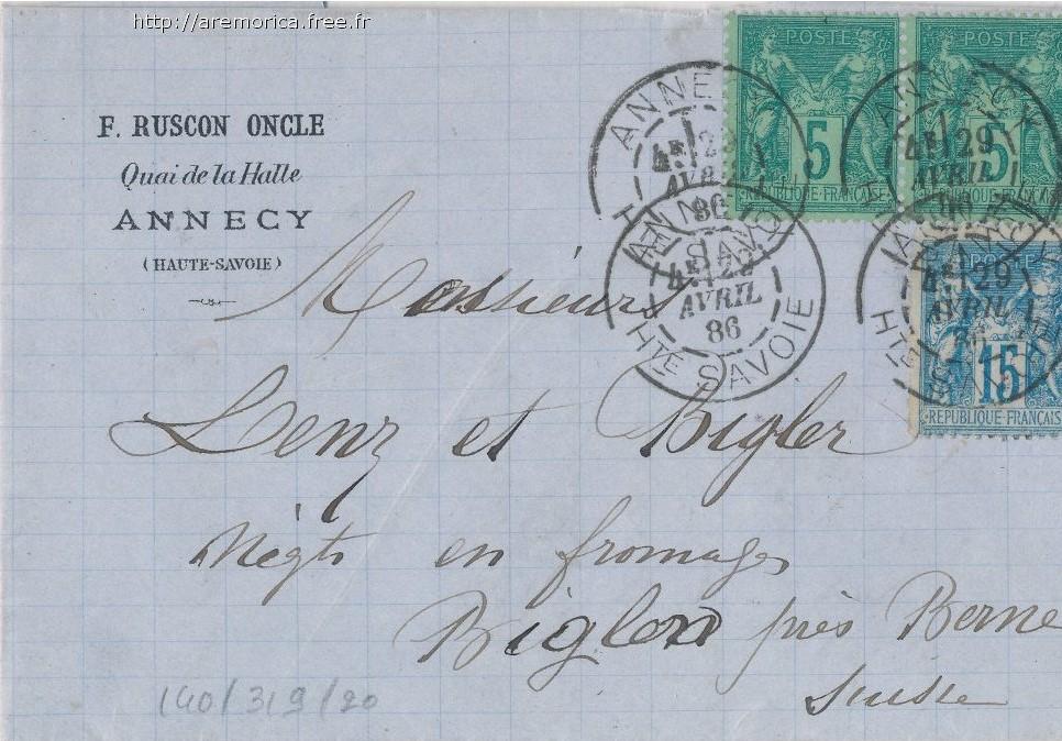 Découverte d'un Daguin d'Annecy du 29 avril 1886