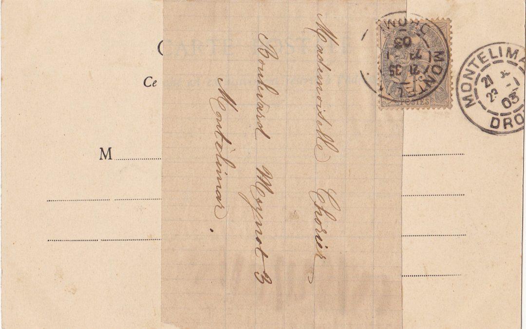 1899 – Cartes illustrées expédiées sous bandes affranchies à 1 centime