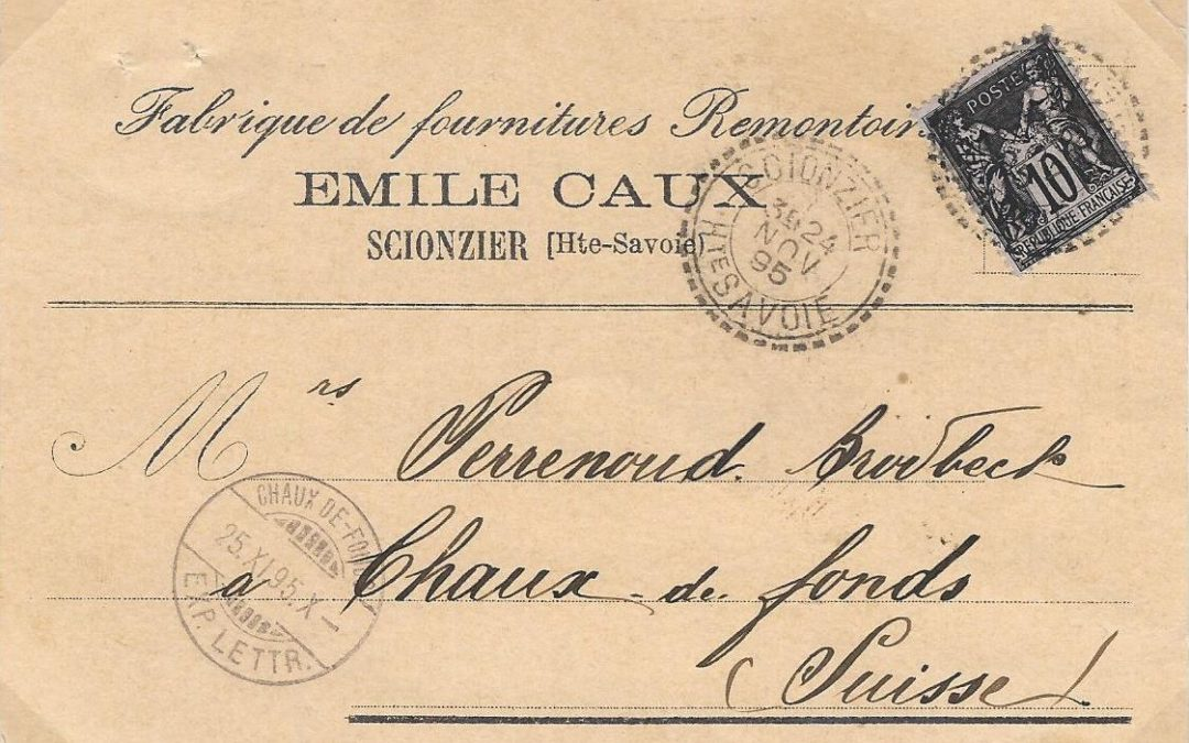 1892 – Circulation internationale des cartes postales privées.